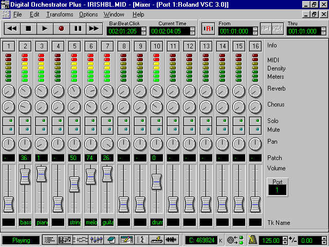 Mixer Software
